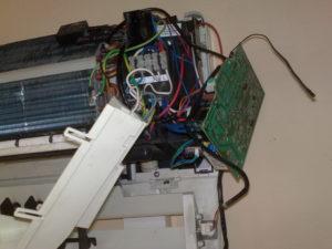 ремонт внутреннего блока кондиционера
